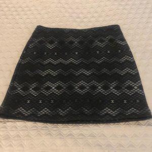 Athleta Athletic skirt with Aztec pattern